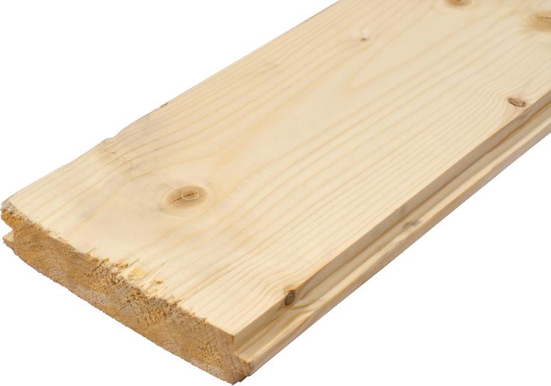 Podlahové palubky 27x146x4000 - smrk, kvalita BC