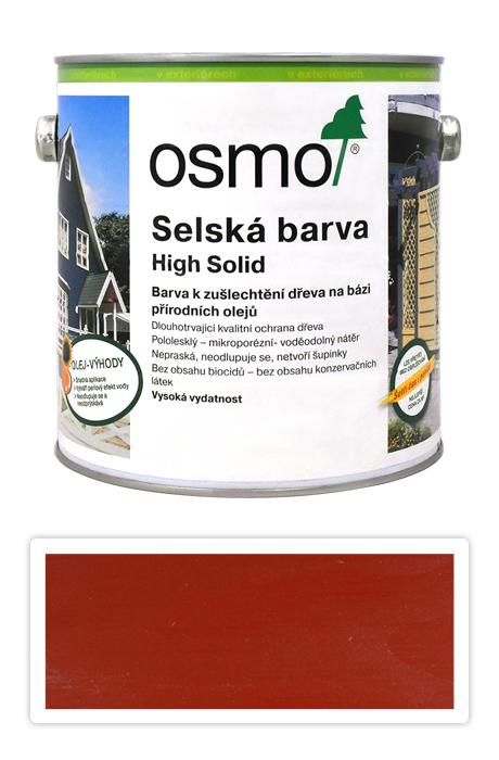 Selská barva OSMO 2.5l Nordicky červená 2308