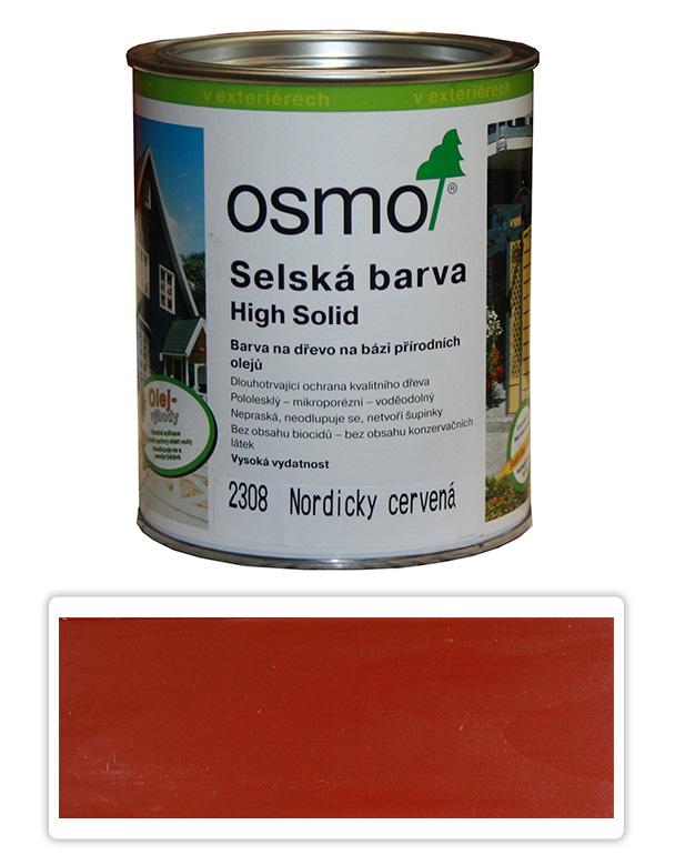 Selská barva OSMO 0.75l Nordicky červená