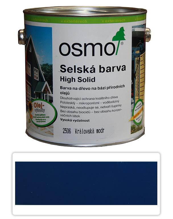 Selská barva OSMO 2.5l Královská modrá