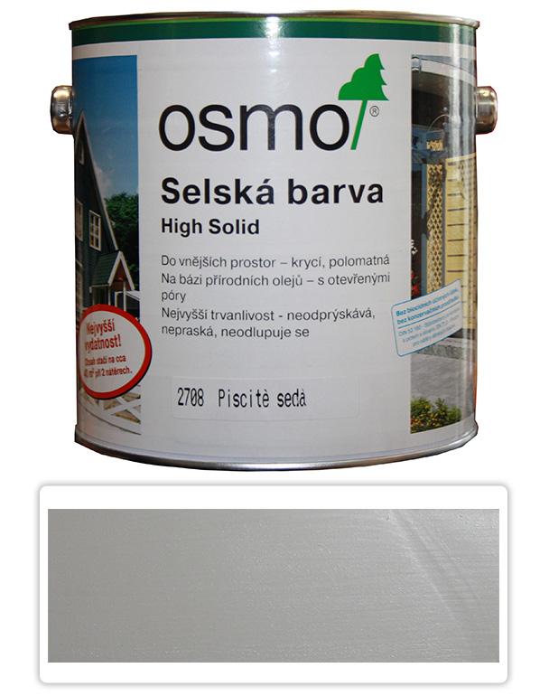 Selská barva OSMO 2.5l Písková šeď