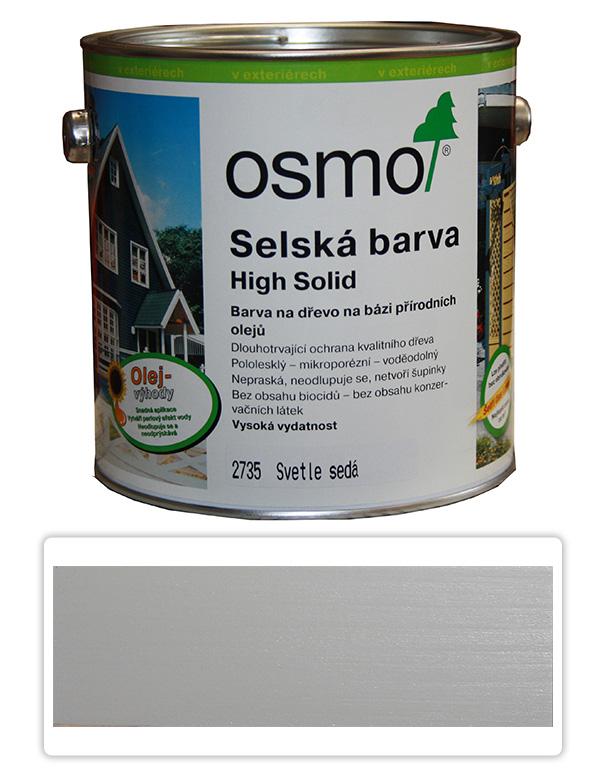 Selská barva OSMO 2.5l Světle šedá