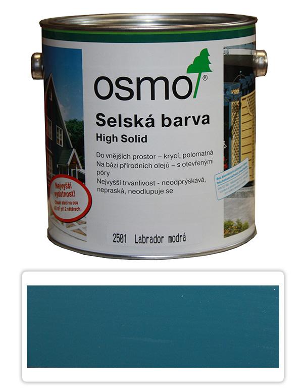 Selská barva OSMO 2.5l Labr. modrá