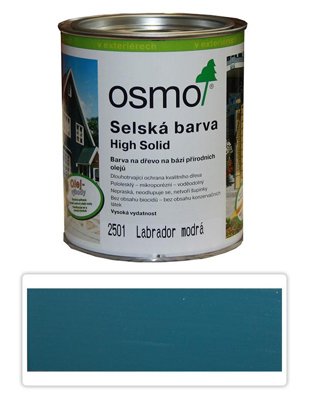 Selská barva OSMO 0.75l Labr. modrá
