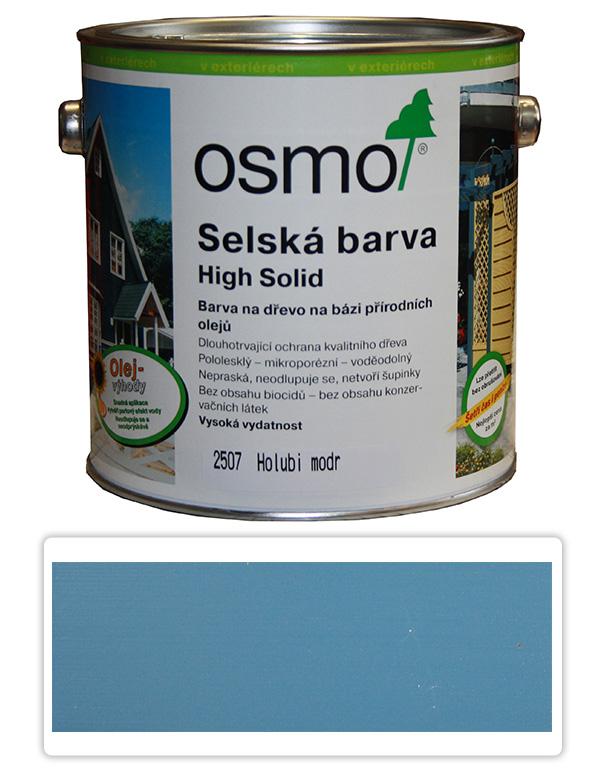 Selská barva OSMO 2.5l Holubí modř