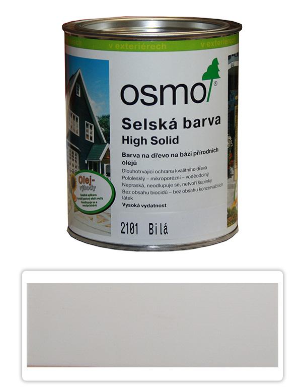 Selská barva OSMO 0.75l Bílá