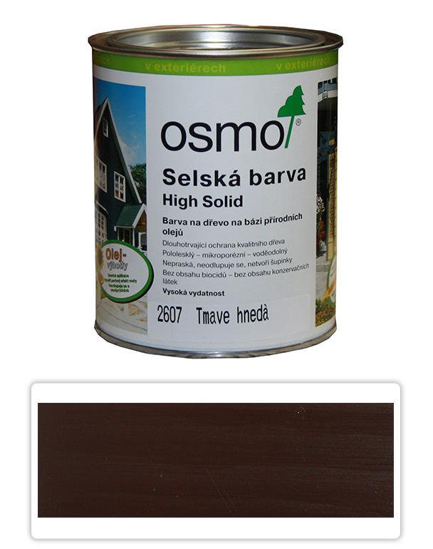 Selská barva OSMO 0.75l Tmavě hnědá