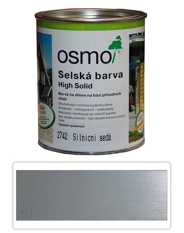 Selská barva OSMO 0.75l Silničně šedá