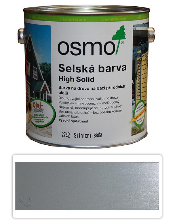 Selská barva OSMO 2.5l Silničně šedá