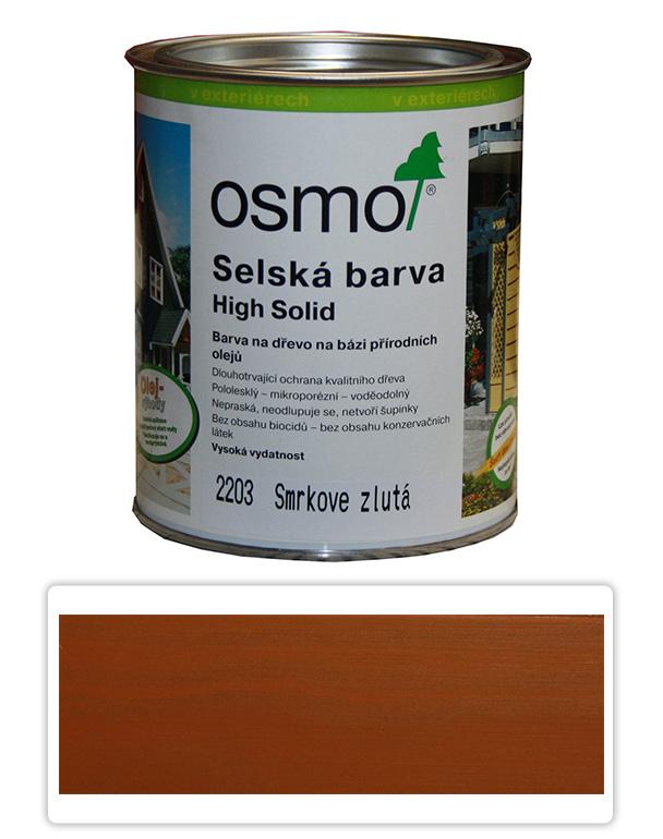 Selská barva OSMO 0.75l Žlutý smrk