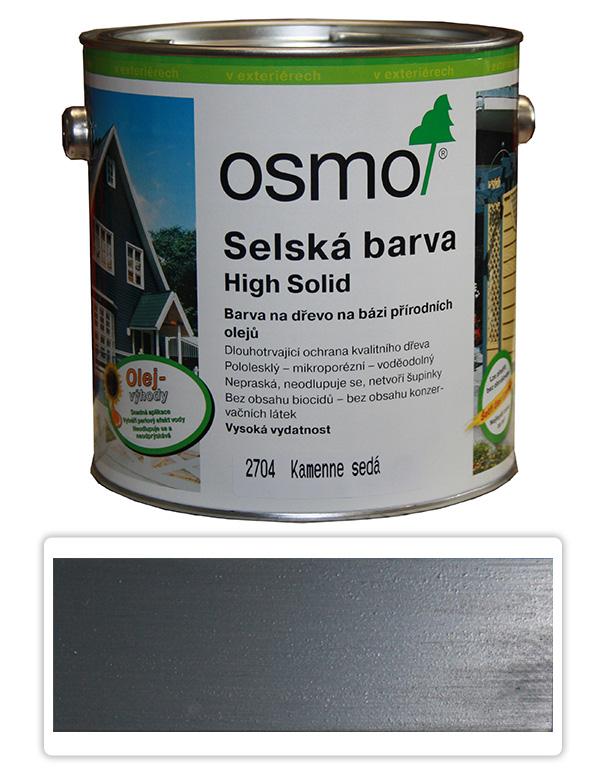 Selská barva OSMO 2.5l Kamenná šeď