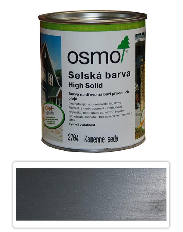 Selská barva OSMO 0.75l Kamenná šeď