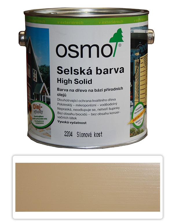 Selská barva OSMO 2.5l Slonovina