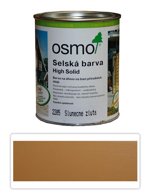 Selská barva OSMO 0.75l Slunečně žlutá