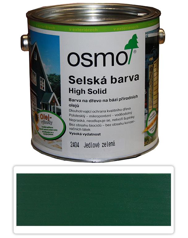 Selská barva OSMO 2.5l Jedlová zeleň