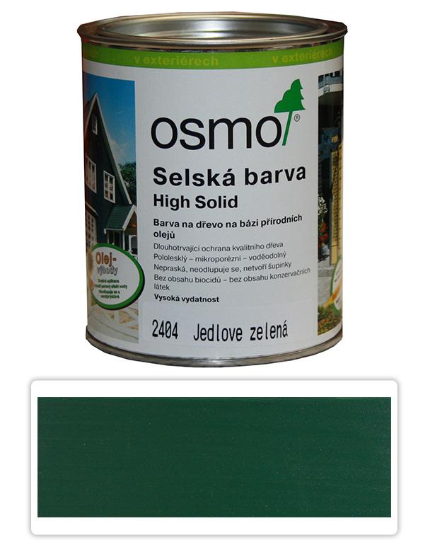 Selská barva OSMO 0.75l Jedlová zeleň