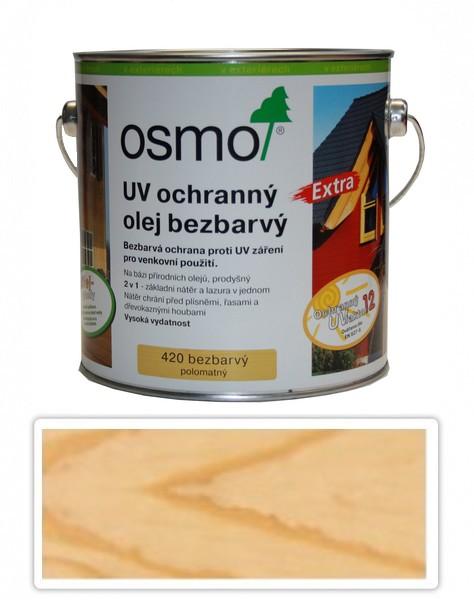 UV olej OSMO EXTRA 2.5l Bezbarvý