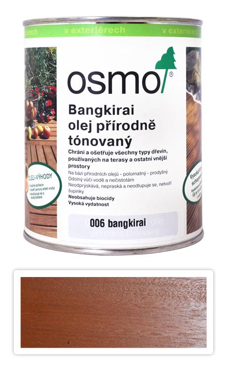 OSMO Speciální olej na terasy 0.75 l Bangkirai 006