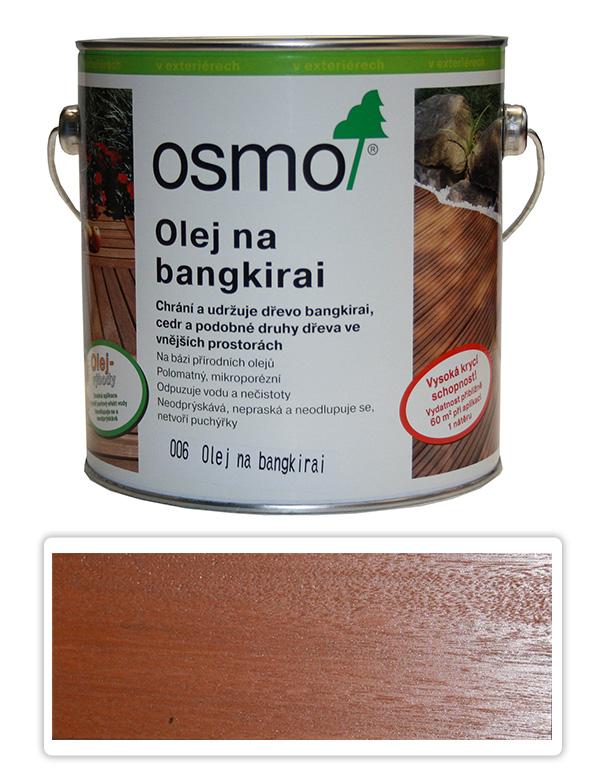 OSMO Speciální olej na terasy 2.5 l Bangkirai 006