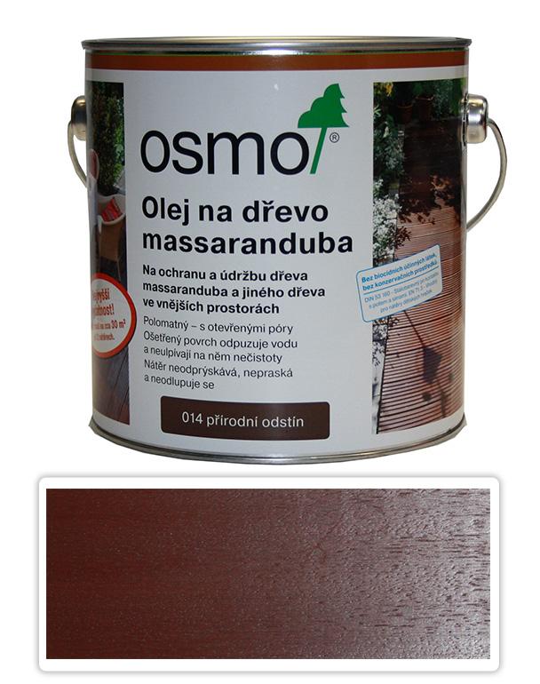 OSMO Speciální olej na terasy 2.5 l Massaranduba 014