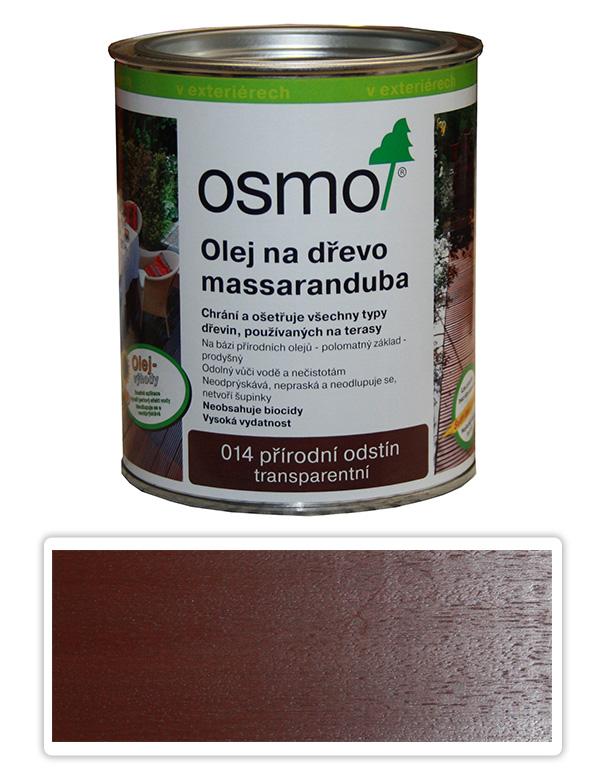 OSMO Speciální olej na terasy 0.75 l Massaranduba 014