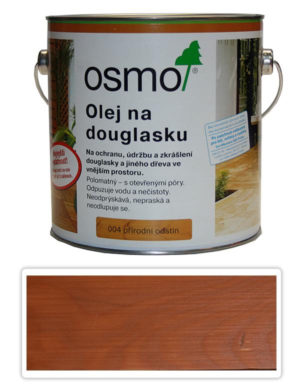 OSMO Speciální olej na terasy 2.5 l Douglasien 004