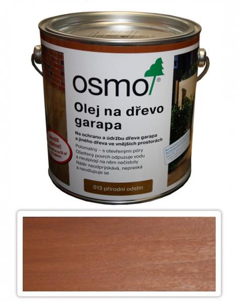 OSMO Speciální olej na terasy 2.5 l Garapa 013