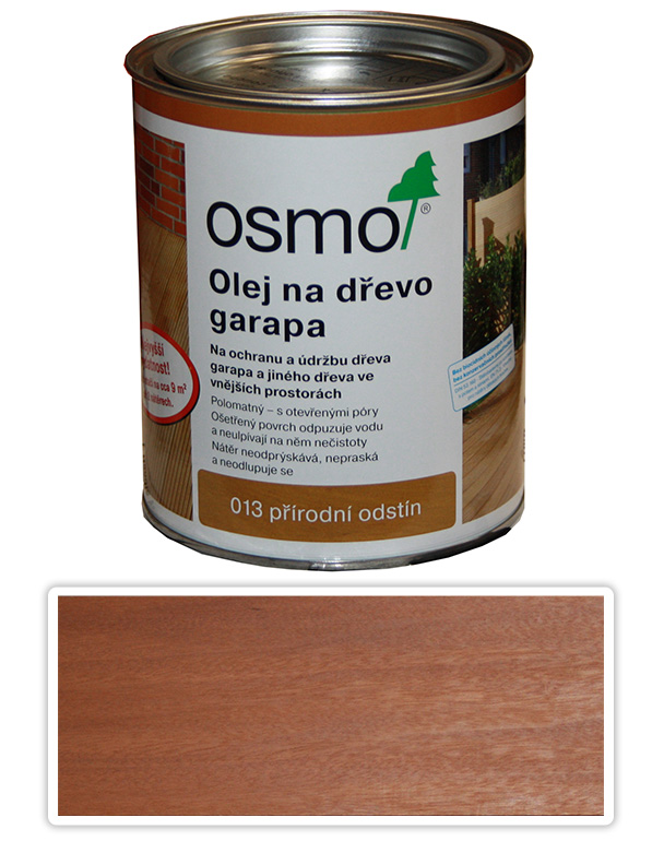 OSMO Speciální olej na terasy 0.75 l Garapa 013