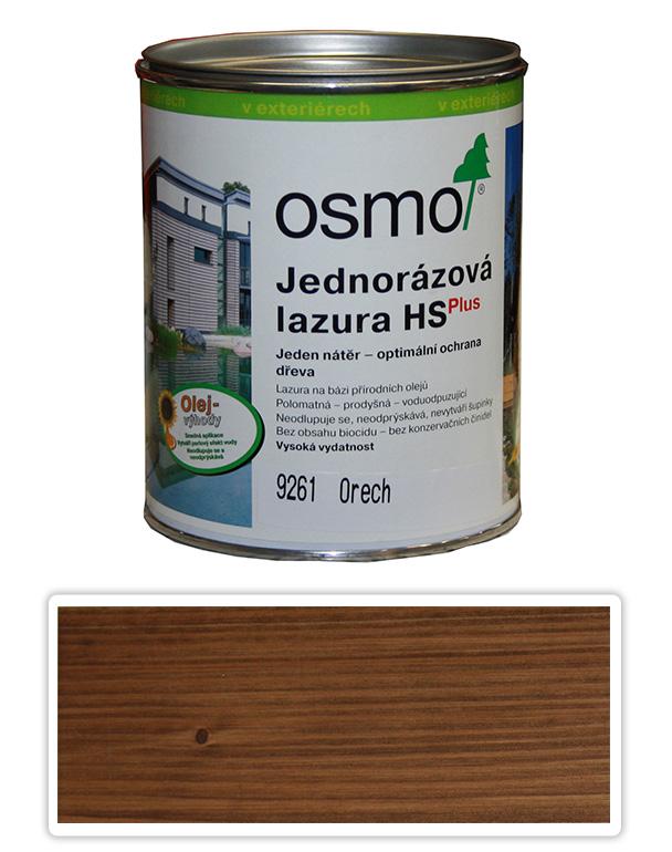 Jednorázová lazura HS OSMO 0.75l Ořech