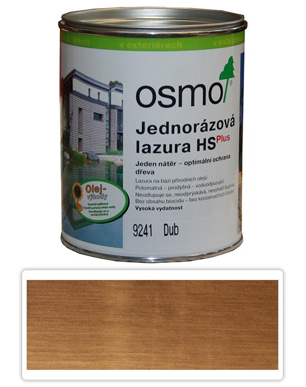 Jednorázová lazura HS OSMO 0.75l Dub