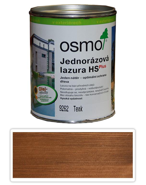 Jednorázová lazura HS OSMO 0.75l Teak