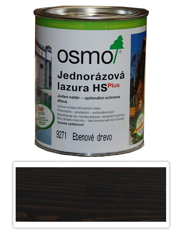Jednorázová lazura HS OSMO 0.75l Eben