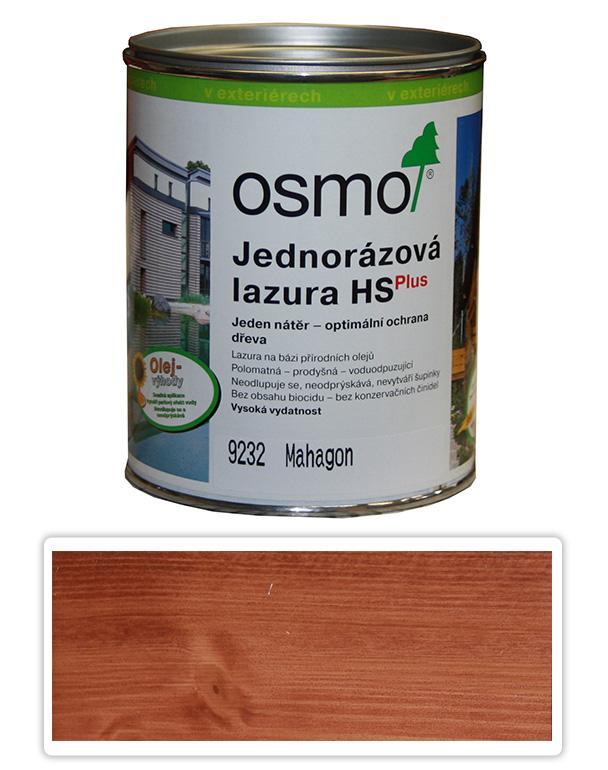 Jednorázová lazura HS OSMO 0.75l Mahagon