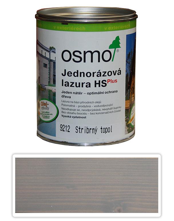 Jednorázová lazura HS OSMO 0.75l Stříbrný topol