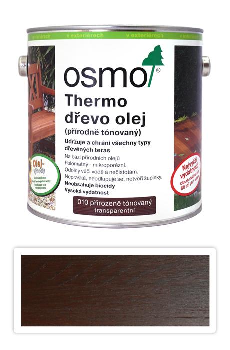 OSMO Speciální olej na terasy 2.5 l Termo-dřevo 010