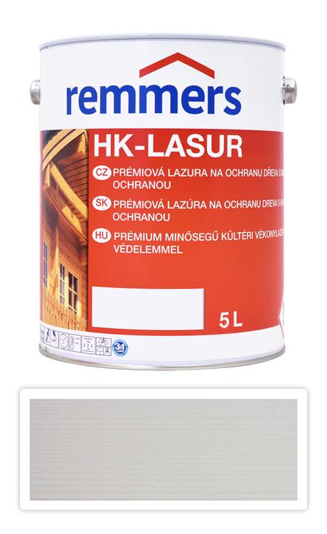REMMERS HK-lasur - ochranná lazura na dřevo pro exteriér 5 l Bílá