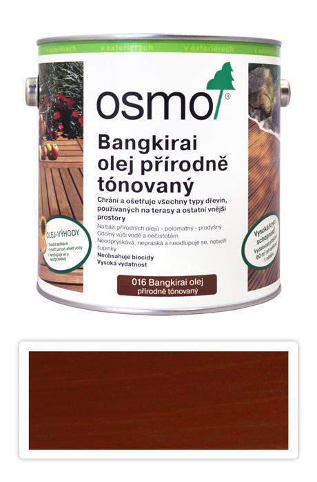 Osmo terasový olej 2,5l 016 bangkirai tmavý