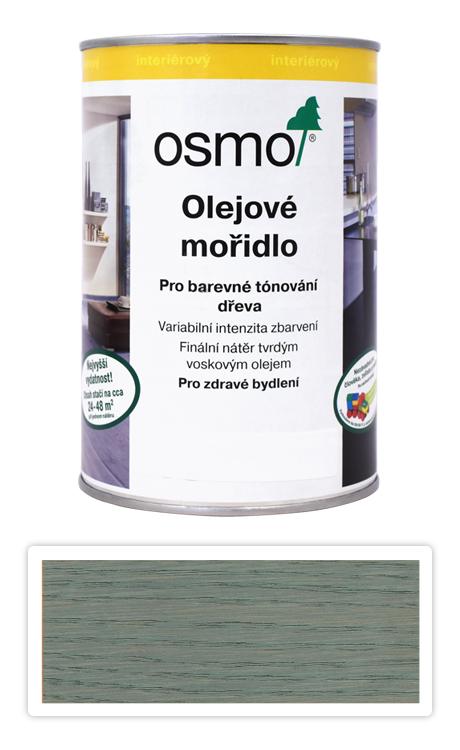 OSMO Olejové mořidlo 1 l Stříbrně šedá 3512