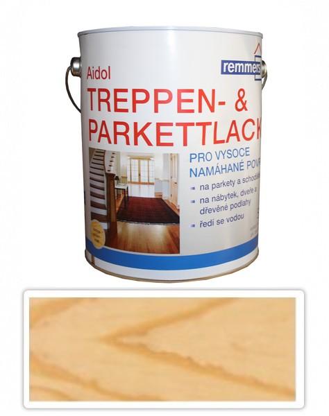 Treppen & Parkettlack Remmers- Polyuretanový lak 5l Bezbarvý lesklý