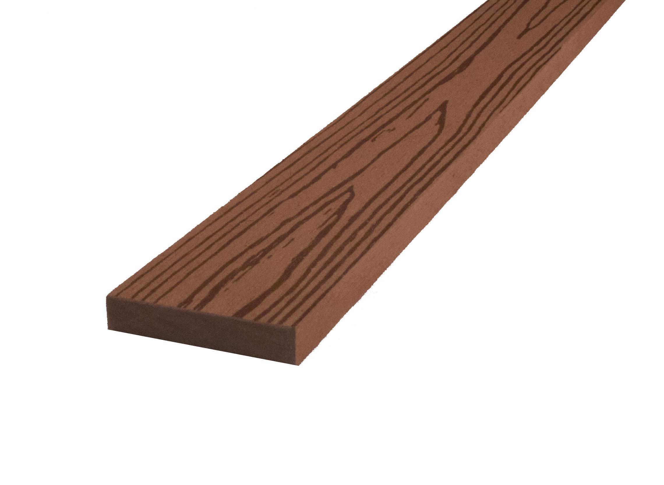 WPC dřevoplastová prkna na plot Dřevoplus Profi 15x70x4000 - Bangkirai