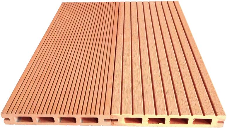 Dřevoplus terasová prkna Dub 25x150x4000 - STANDARD dutá