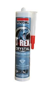 SOUDAL T-REX CRYSTAL - lepicí tmel 290ml