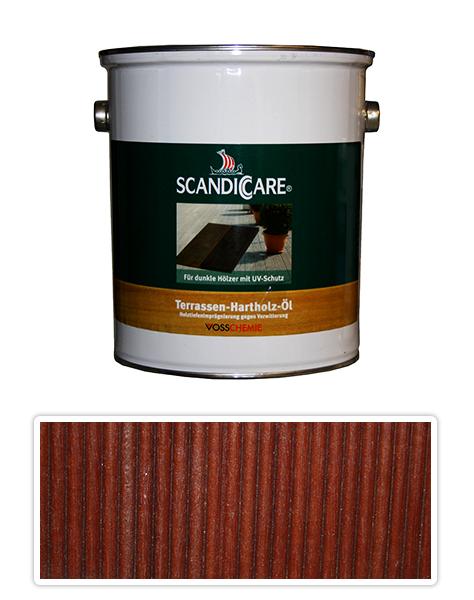 Scandiccare Terrassen Öl - olej na terasy 3l tmavý