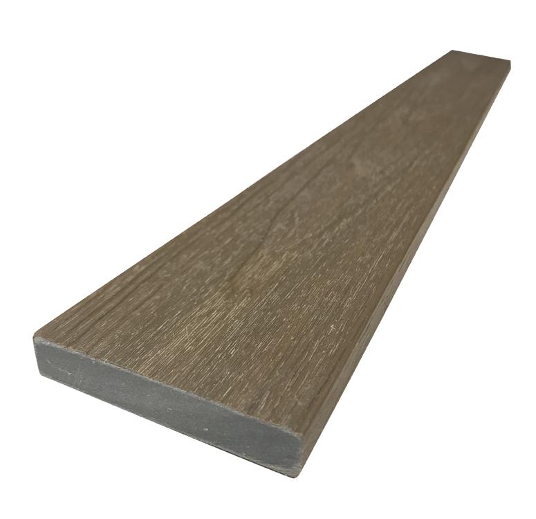 WPC dřevoplastová prkna na plot Dřevoplus Profi 15x80x4000 - Teak