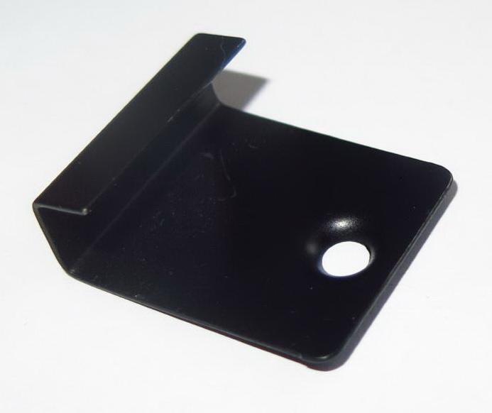 Spojka kov startovací pro terasy WPC Dřevoplus Profi 29x25 černá