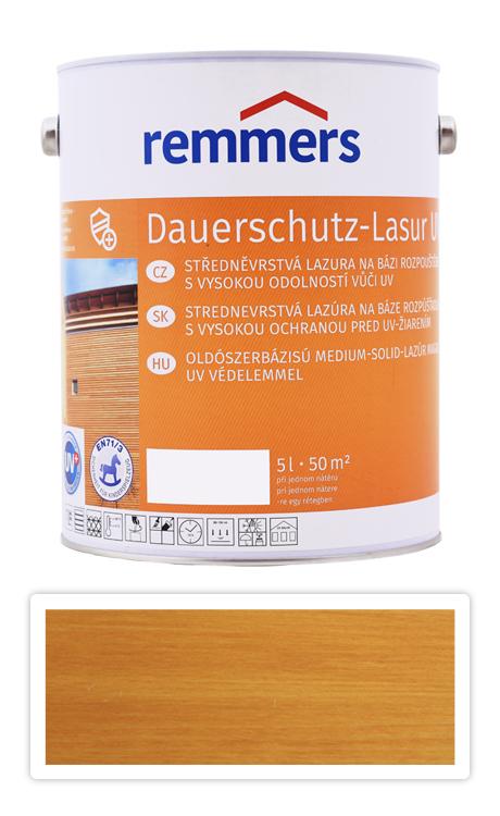 REMMERS Dauerschutz-lasur UV - dekorativní lazura na dřevo 5 l Dub světlý