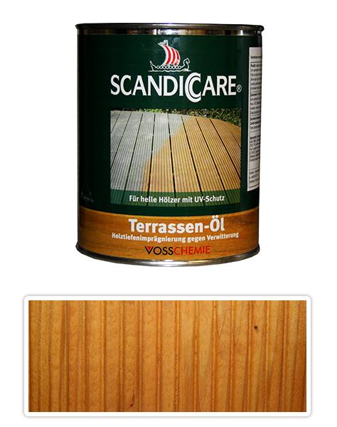 Scandiccare Terrassen Öl - olej na terasy 1l světlý