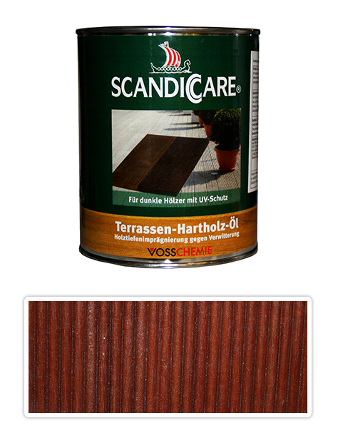 Scandiccare Terrassen Öl - olej na terasy 1l tmavý