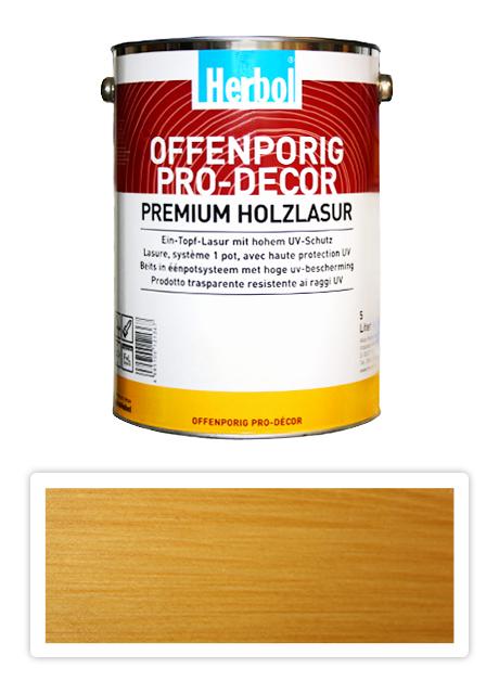 Herbol Offenporig Pro-decor 5l světlý dub 1401