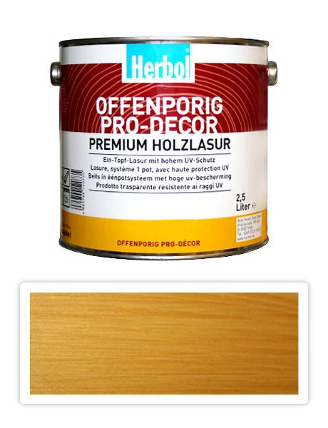 Herbol Offenporig Pro-decor 2.5l světlý dub 1401